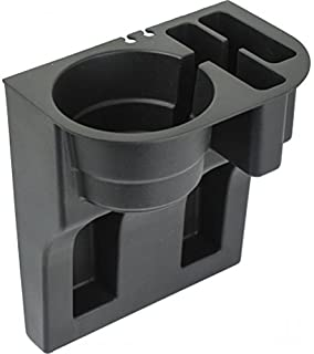 Custom Accessories 91129 Black Mobile Device Organizer with Cup Holder