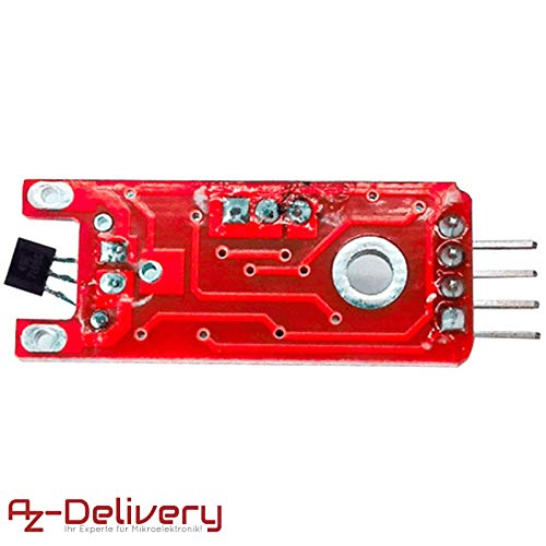 Azdelivery KY-024 Linear magnetic Hall sensor for Arduino with Free E-book!