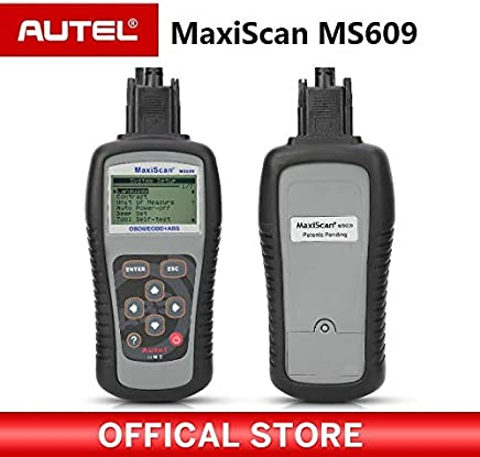 Autel Maxiscan MS609 OBD2 Scanner Code Reader with Full OBD2 Functions ABS Diagnostics DTC Definitions Advanced of MS509 & AL519 :