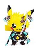 Figuras de acción de asesino demonio Pikachu Cosplay Kamado Tanjirou Figura Estatuas Kimetsu no Yaiba Collection Regalos de cumpleaños PVC 3.5 pulgadas (Kamado Tanjirou)