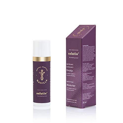 solutio Mattifying Moisturiser with Salicylic Acid and Rosemary Extract