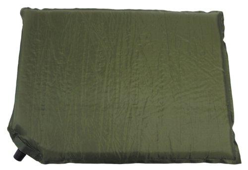 Thermokissen, selbstaufblasb., oliv, Gr. 42x31x3 cm