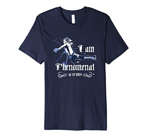 WWE I Am Phenomenal AJ Styles Old English Premium T-Shirt
