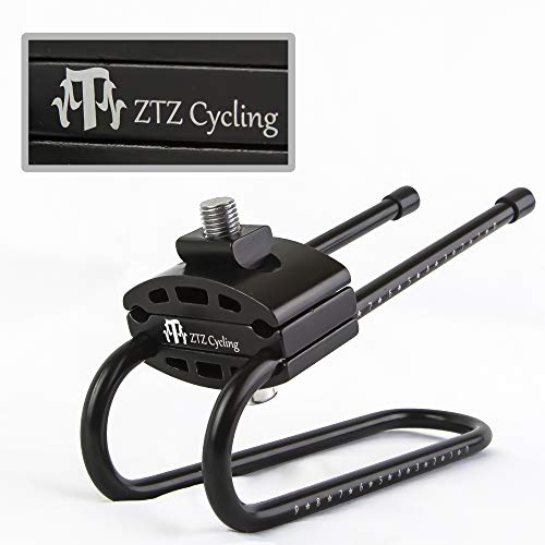ZTZ Bicycle Shock Absorber- Bicycle Saddle Alloy Spring Steel Suspension Device, Road Bike Seat Shock Absorber Cycling Parts