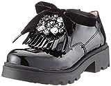 Unisa Priscila_pa, Zapatos de Cordones Oxford para Niñas, Negro Black, 32 EU