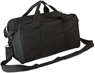 Allen Company Range Bag with Pistol Rug & MOLLE Loops, Black