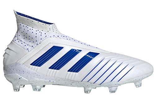 adidas Predator 19+ FG Soccer Cleats (Men's) (8.5) White