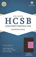 Best hcsb large print personal size bible Reviews