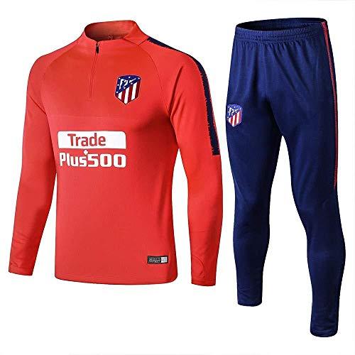 CYFLY® 18-19 Atletico Madrid Langarm-Trainingsanzug lässige Fußballuniform Männer Casual Sportswear-l