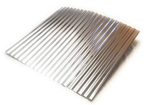 EAGLE 1 Corrugated Metal Barn Tin Pieces (3 Pack) Great for Arts, Crafts, Home Projects, DIY and Decorating Ideas (12