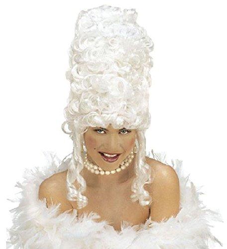 Mondial-Fete - Perruque de Reine Blanche