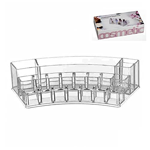 Vidal Regalos Distributeur de cosmétiques courbé en acrylique 28 cm