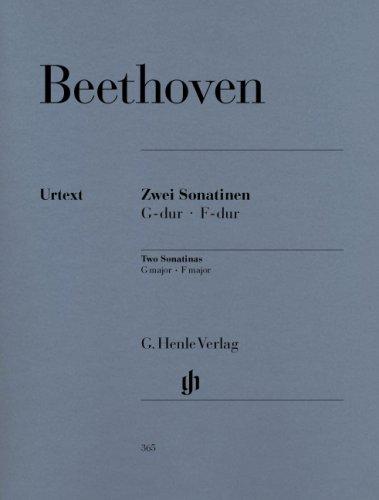 2 Sonatinen F-Dur + G-Dur. Klavier