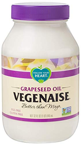 Follow Your Heart Grapeseed Veganaise Vegan Mayo 32 ounces (Pack of 6)