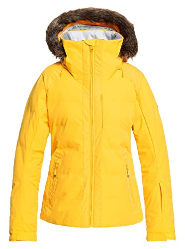 Roxy Clouded - Snow Jacket for Women - Schneejacke - Frauen - M - Gelb