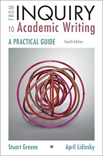 From Inquiry to Academic Writing A Practical Guide product image