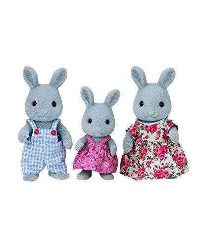 SYLVANIAN FAMILIES- Rabbit Family Mini muñecas y Accesorios, Multicolor (Epoch 5124)