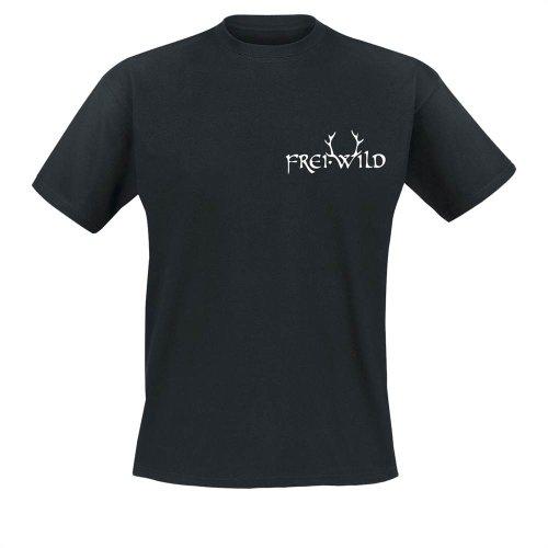 Frei.Wild - Geweih T-Shirt, schwarz, Grösse S