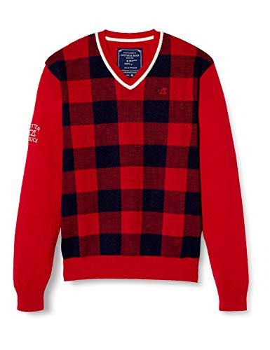 [カッターアンドバック] セーター CGMMJL01 メンズ RD00(レッド) 日本 LL (日本サイズ2L相当)