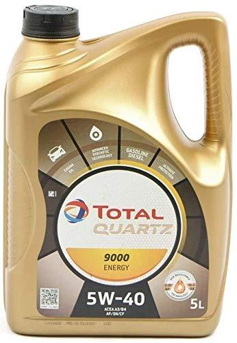 Huile moteur Total Quartz 9000 5W40 - 5L