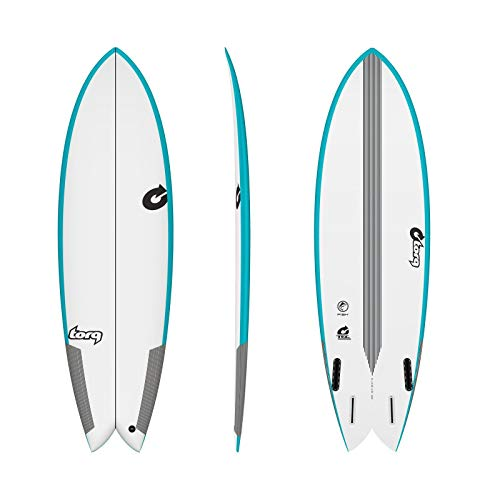 TORQ Epoxy TEC Fish 5.10 - Tabla de surf, color azul
