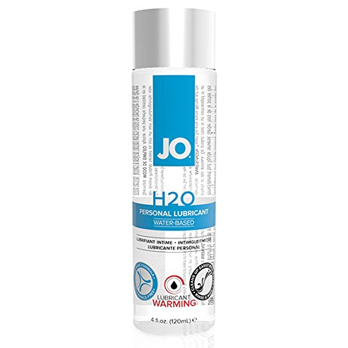 System JO H2O Warming Personal Lubricant, Water Based, 4.5-Ounce Bottle