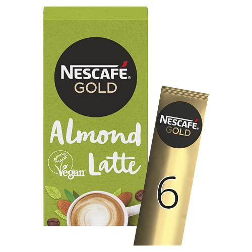 NESCAFE GOLD Almond Latte Coffee 6 Pack, 96g