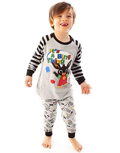 Bing Bunny Pajamas Pijamas de Manga Larga para niños Cbeebies Character