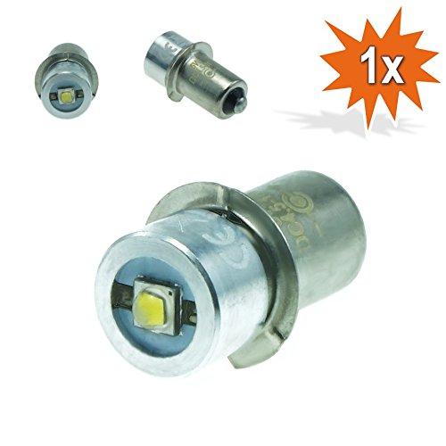 Do!LED P13.5s LED Cree Taschenlampe Lampe Weiss Birne 5 Watt bis zu 250 Lumen 4,5V - 10 Volt Gleichstrombetrieb DC