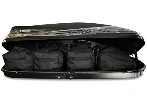 KJUST KJ13999 Borse per Auto da Tetto Box, 4 Pezzi, Standard