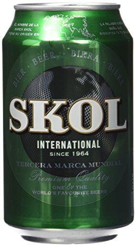 Skol Cerveza - Paquete de 24 x 330 ml - Total: 7920 ml