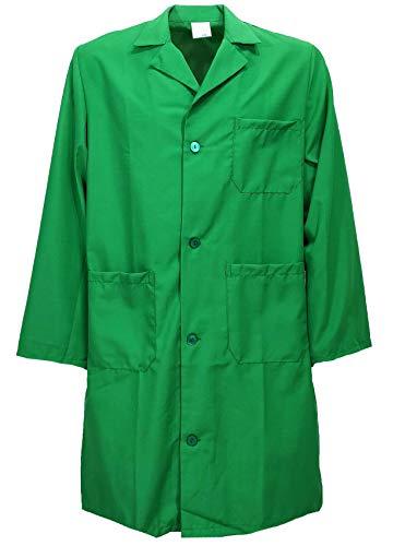 fratelliditalia.org Bata para hombre de mezcla de algodón, disponible en tallas 44 a 60 (blanco, azul, negro, verde, azul)