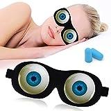 Sleep Mask Eye Sleeping Mask Funny Blindfold for Women Men Kids Tphon 3D Blcokout Eye Cover for Travel, Shift Work, Naps