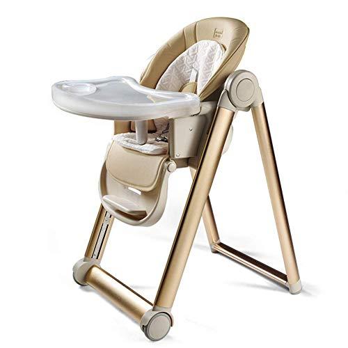 SCJ Trona Bebé Portátil Plegable Walker Niños, 7-en-1 Ajustable, 1 año de Edad Juguetes para niños Cumpleaños