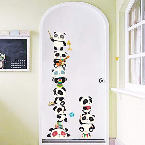 Happy Switch Wandaufkleber Laptop Wallpaper Kinderzimmer Dekoration Vinyl abnehmbare Wand Poster DIY Wandbild Tier Aufkleber