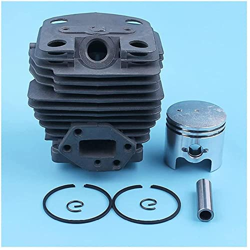 Kit de pistón de cilindro de 40 mm para Nikasil Kit de pistón de cilindro plateado Kit de pistón de cilindro para Husqvarna 143R II 443R para desbrozadora, desbrozadora para desbrozadora, para PI