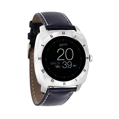 X-WATCH XLYNE 54018 Nara XW Pro - Reloj Inteligente, Color Azul Marino