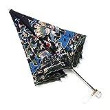 Sonnenschutz Sonnenschirm Regenschirm Regen und UV-Schutz Schwarz Kunststoff Stickerei Spitze Stickerei Sonnenschutz Faltbar / A BJY969 (Farbe: A)
