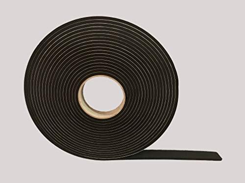 Advanced Acoustics formbeständigen Dichtungsband - 25 mm x 5 mm Dicke von 10 M lange Rolle