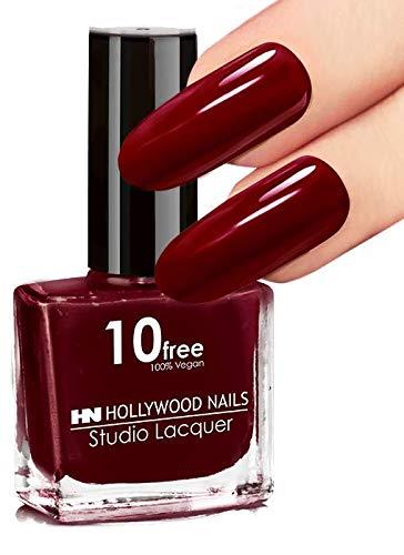 HN Hollywood nails 10 free Nagellack (Blutrot)