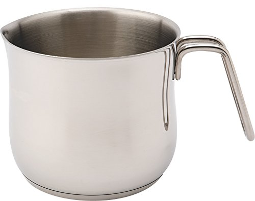 Zinel 1018 Milk/Sauce/Boiling Pot, Stainless Steel, Silver, 15 cm