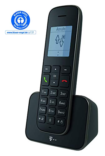 Telekom Sinus 207  Schnurlostelefon DECT analog – farbe Schwarz - 2