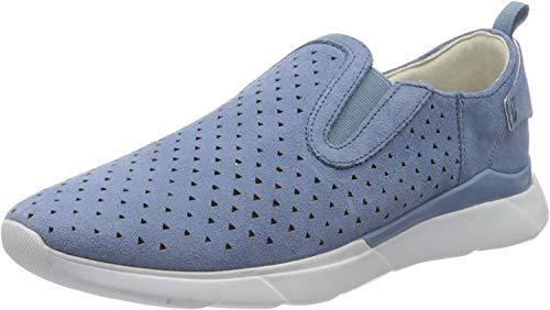 Geox D Sandal Hiver A, Zapatillas sin Cordones Mujer, Azul (Lt Blue C4003), 41 EU