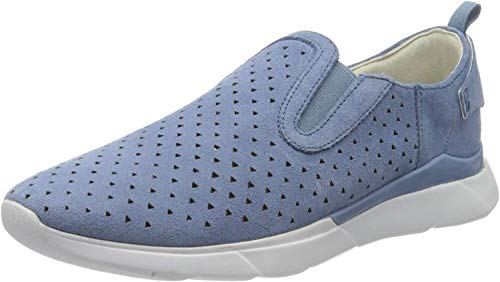 Geox D Sandal Hiver A, Zapatillas sin Cordones Mujer, Azul (Lt Blue C4003), 40 EU