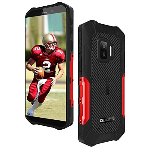 Rugged Smartphone Economici OUKITEL WP12 Pro,4GB +64GB Android 11 Dual SIM con NFC Cellulari Offerte,13MP+8MP Camera Schermo 5,5   Batteria 4000mAh IP68 Impermeabile Antiurto Telefono Robusto Rosso