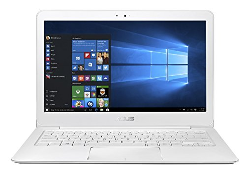 Asus Zenbook UX305CA-FB052T 33,8 cm (13,3 Zoll non Glare Quad HD) Laptop (Intel Core M7-6Y75, 8GB RAM, 256GB SSD, Intel HD, Win 10 Home) weiß