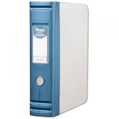 Hermes A4 80mm 2D-Ring Polypropyleen Doos Bestand - Blauw