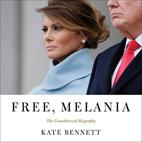 Free, Melania audiobook cover art