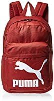 Puma Originals Backpack Fired Brick Brown Bag For Unisex, Size One Size
