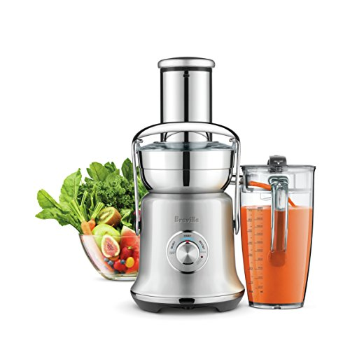 Read About Breville BJE830BSS1BUS1 Juice Founatin Cold XL, Brushed Stainless Steel Centrifugal Juice...